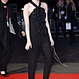 Emma Stone at the Killing of a Sacred Deer London Premiere in 2017