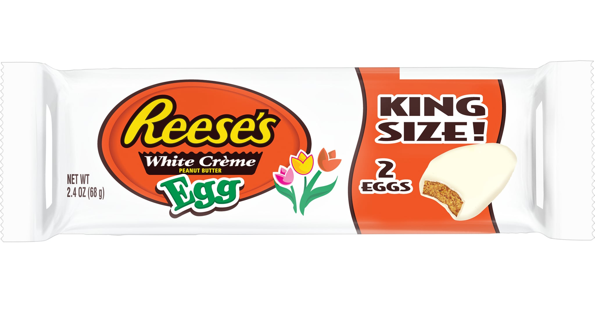 Image result for Reese's White Peanut Butter Eggs King Size