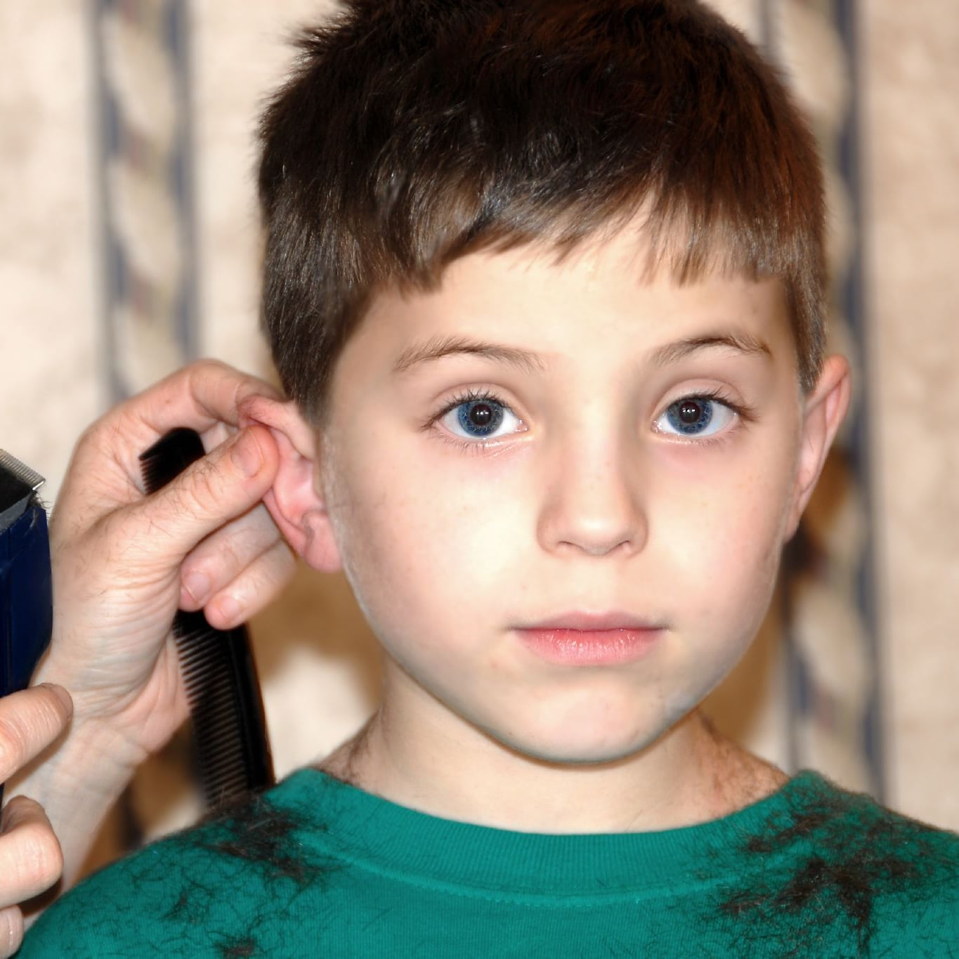 How To Cut Kids Hair At Home Popsugar Family