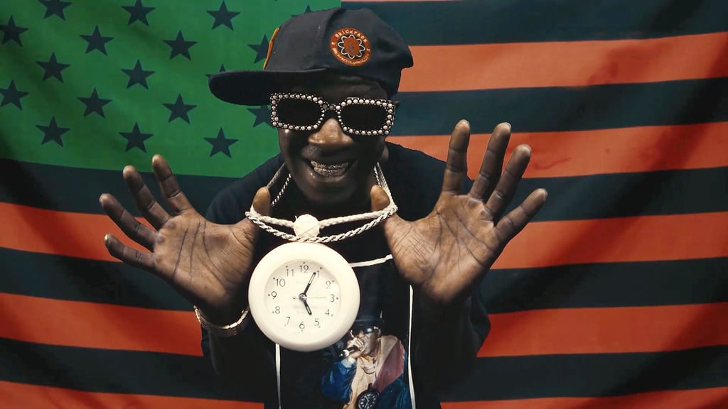 Flavor Flav at the 2020 BET Awards