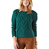 Layer this BB Dakota David cable-knit sweater ($59, originally $84) over a billowy maxi dress for your next evening soiree.