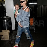 Photos of Gwen Stefani and Her Family at LAX