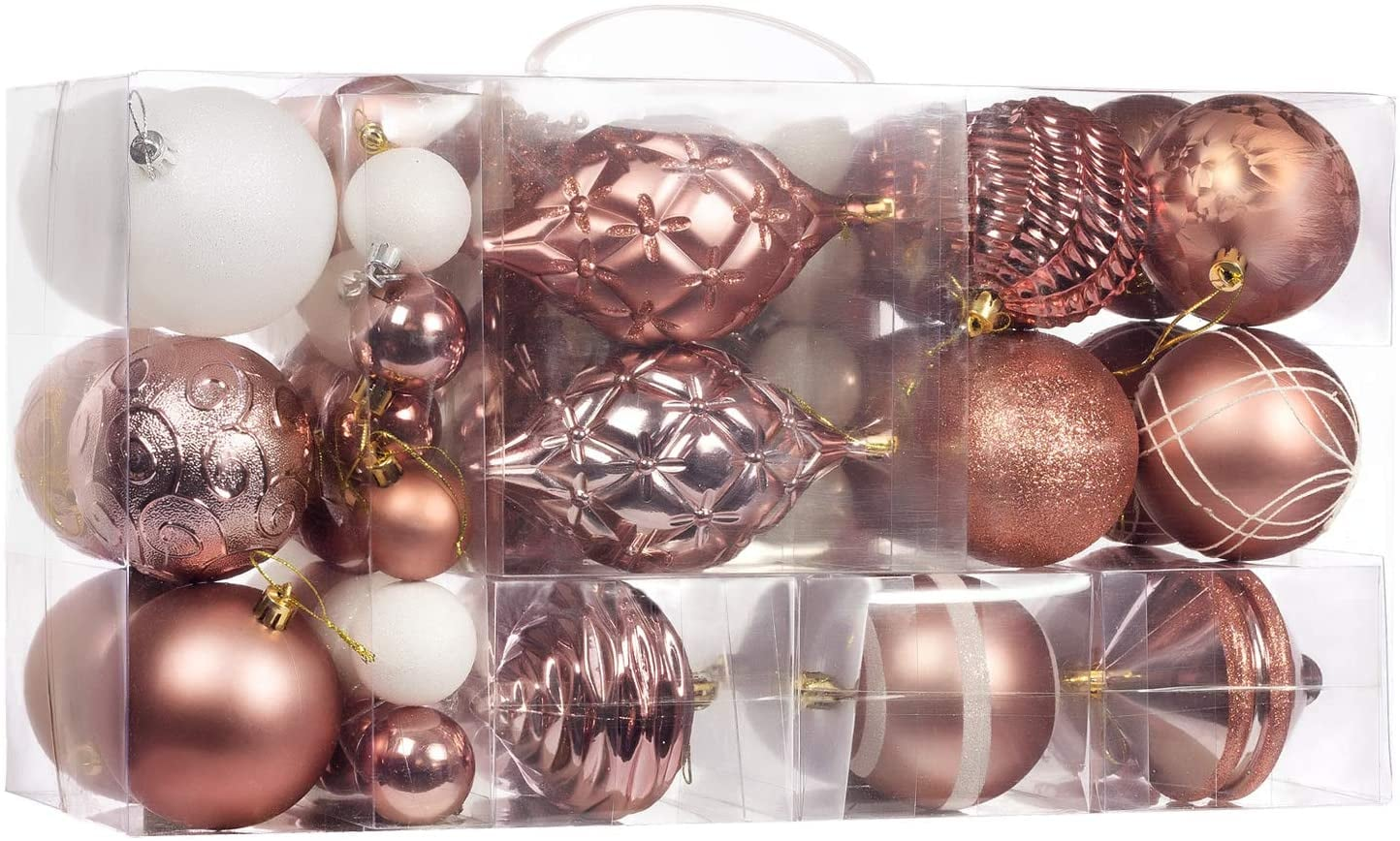 Rose Gold Ornaments Popsugar Home