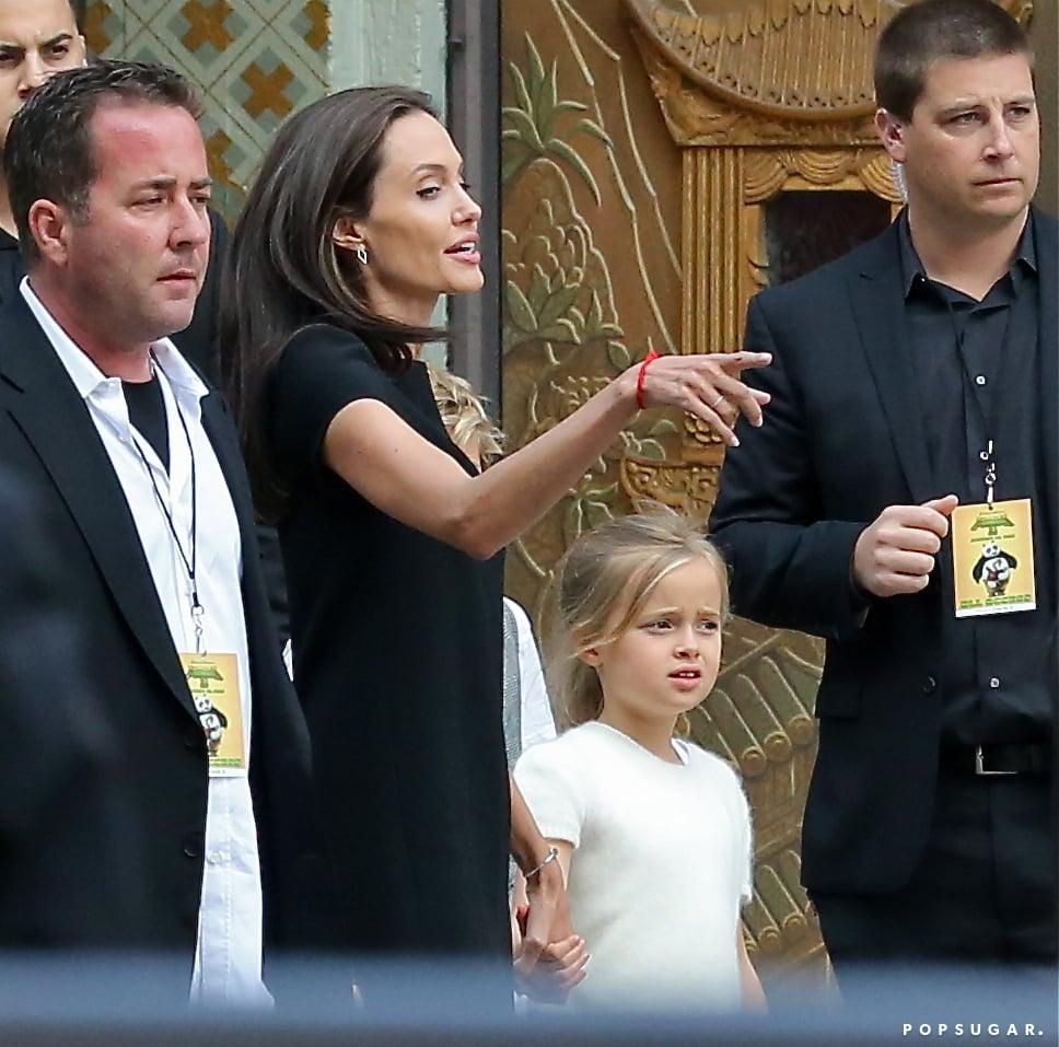 Angelina Jolie and Her Kids at Kung Fu Panda 3 LA Premiere