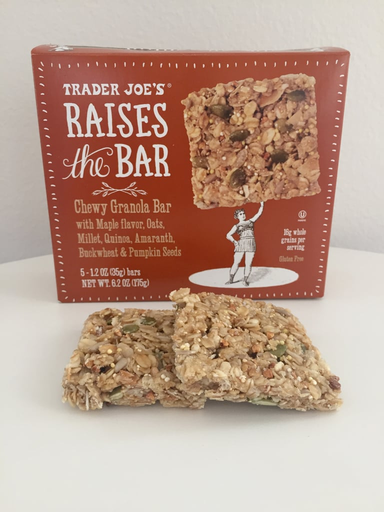 Pass: Raises the Bar Chewy Granola Bar With Maple ($3)