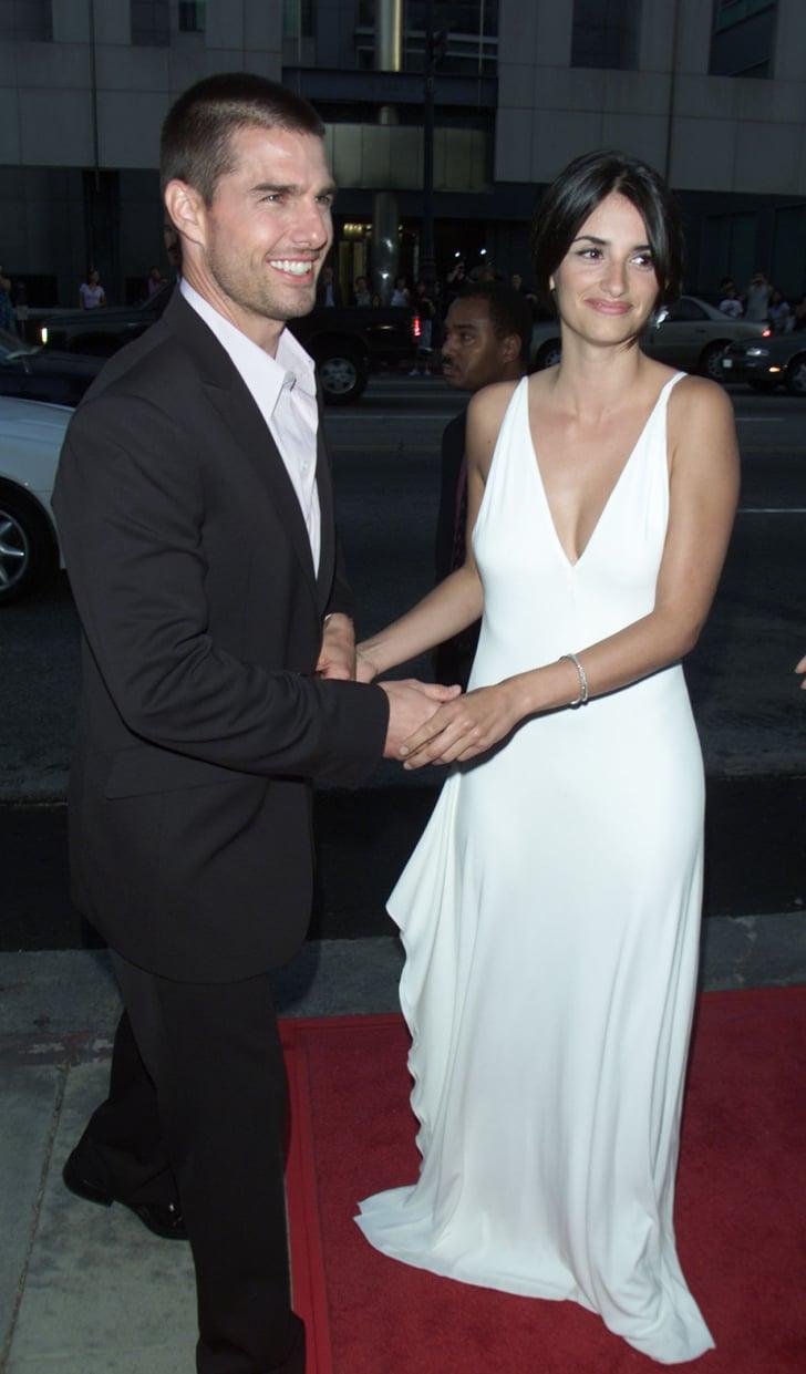 Tom Cruise And Penélope Cruz In 2001
