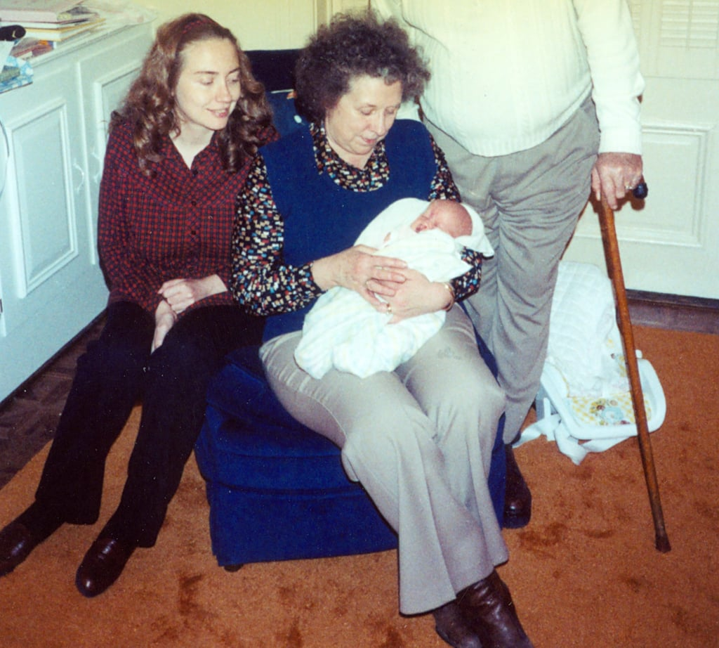 #TBT to right after I was born. I wish my grandmother Dorothy could see this election. She passed away more than four years ago — and I miss her every day. She was and remains a huge part of my life.