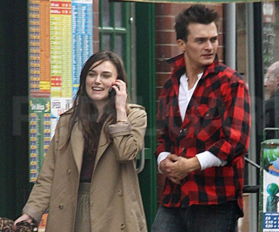 Slide Photo of Keira Knightley and Rupert Friend at Brunch in London