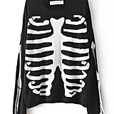 Add a skeleton sweater ($50).