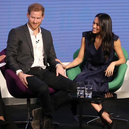 Prince Harry and Meghan Markle at Royal Foundation Forum