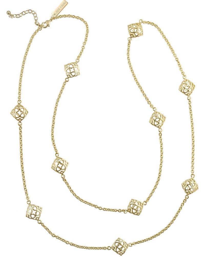 Kendra Nemera Long Gold Necklace ($105)
