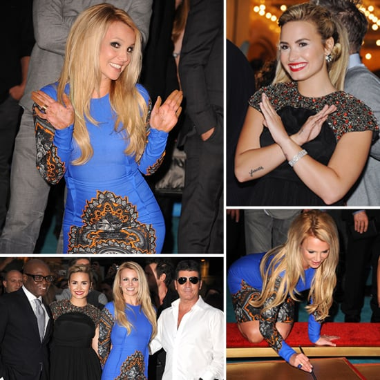Britney Spears X Factor Premiere Pictures