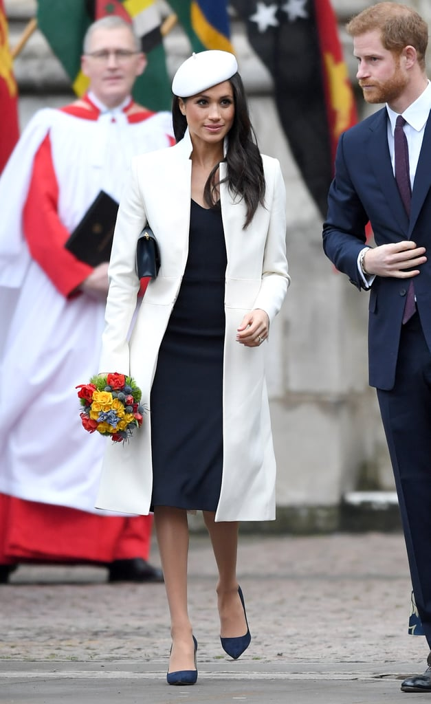 "First came the sheer, embroidered, £56,000 Ralph & Russo gown Meghan Markle wore for her engagement photos, then her ever-impressive coat collection, and who could forget her iconic Philip Treacy London embellished headpiece from Christmas Day?! While the future British royal has wowed us with each and every outfit she steps out in, we can only wonder who's footing the bill for these expensive items. And now, it appears we may have our answer. According to People, both Meghan and Prince Harry are paying for her impressive wardrobe themselves, but when the couple say ""I do"" on May 19, that will all change. Meghan's clothing for official royal outings will be paid for by the allowance that Prince Charles gives to Prince William, the Duchess of Cambridge, and Harry from his income, totalling around £20 million.  People also reports that Meghan's impressive wardrobe is paid for out of their own pockets and that royals do not accept designer clothes for free. For Kate, her assistant will ""call in several options from designers. After they have chosen an outfit, the others are returned and the one that is worn is paid for,"" and it's believed Meghan will have the same process after her wedding. Read on to see some of Meghan's most impressive looks. Then, gush over her street style that she's been wowing us with since 2013.      Related:                                                                                                           10 Major Fashion Moments You Can Expect to See From the Royal Family in 2018"