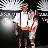 Kelly Slater and Kalani Miller as Nerds