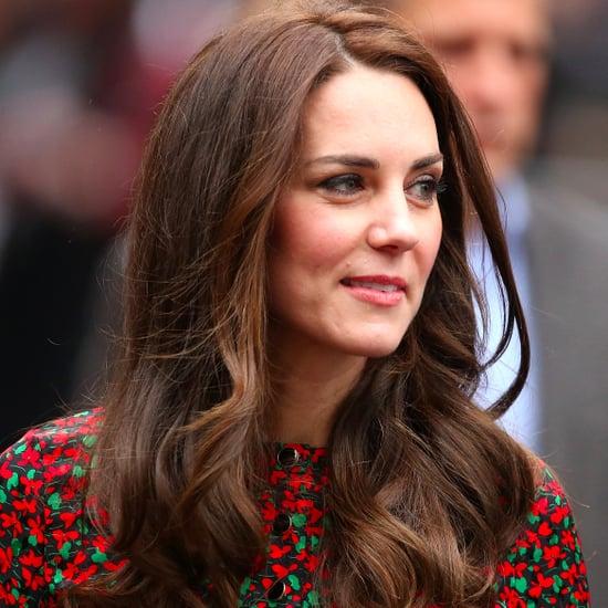 Duchess Kate Vanessa Seward Dress at Christmas Party 2016