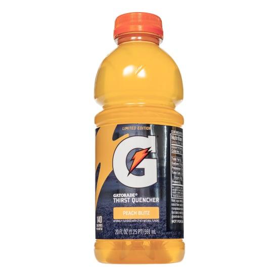 Gatorade Peach Blitz Flavor 2019