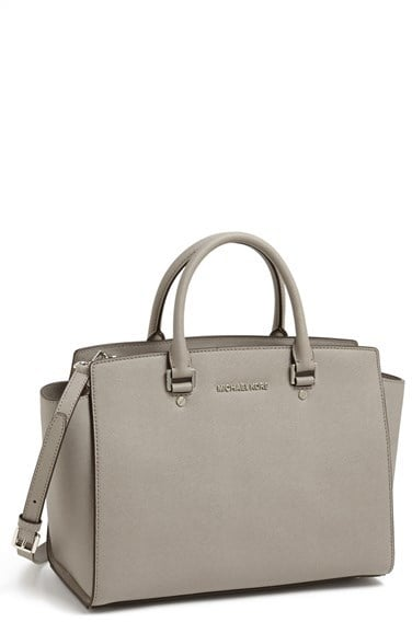 Michael Michael Kors Large Selma Zip-Top Satchel