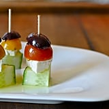 Vegetarian Appetizers: Greek Salad Bites