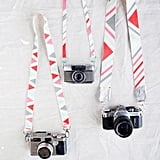 Painted Camera Strap