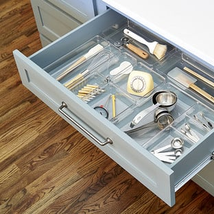 The Container Store iDesign Linus Large Drawer Organizer Starter Kit
