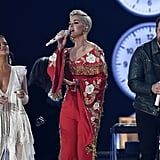 Maren Morris, Katy Perry, and Little Big Town's Jimi Westbrook