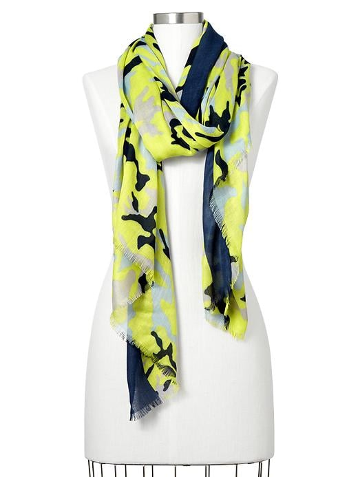 This Gap scarf ($30) makes it easy to jump on the camo trend.