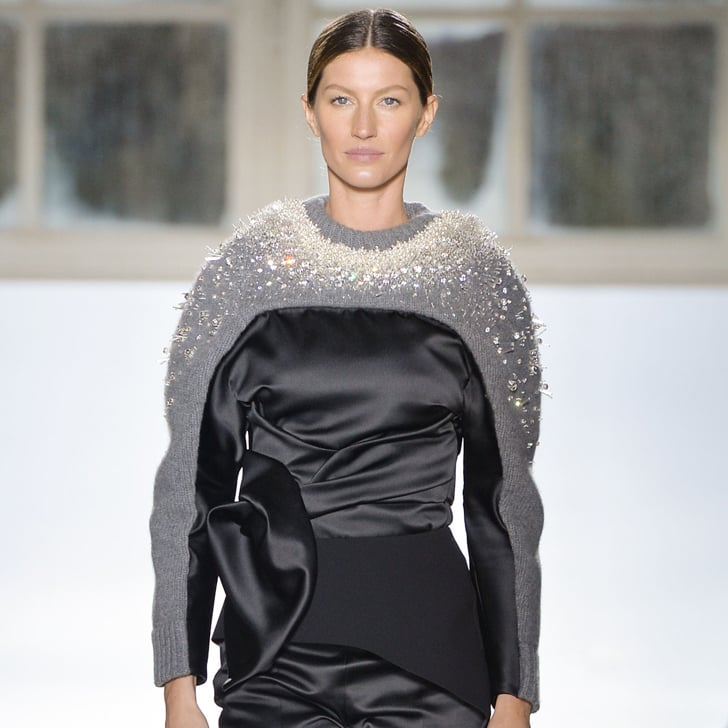 Only Gisele Could Take Your Eyes Off Balenciaga's Clothes