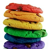 Rainbow Chocolate Chip Cookies