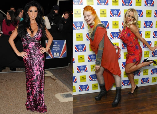 Photos of Red Carpet at 2009 British Comedy Awards