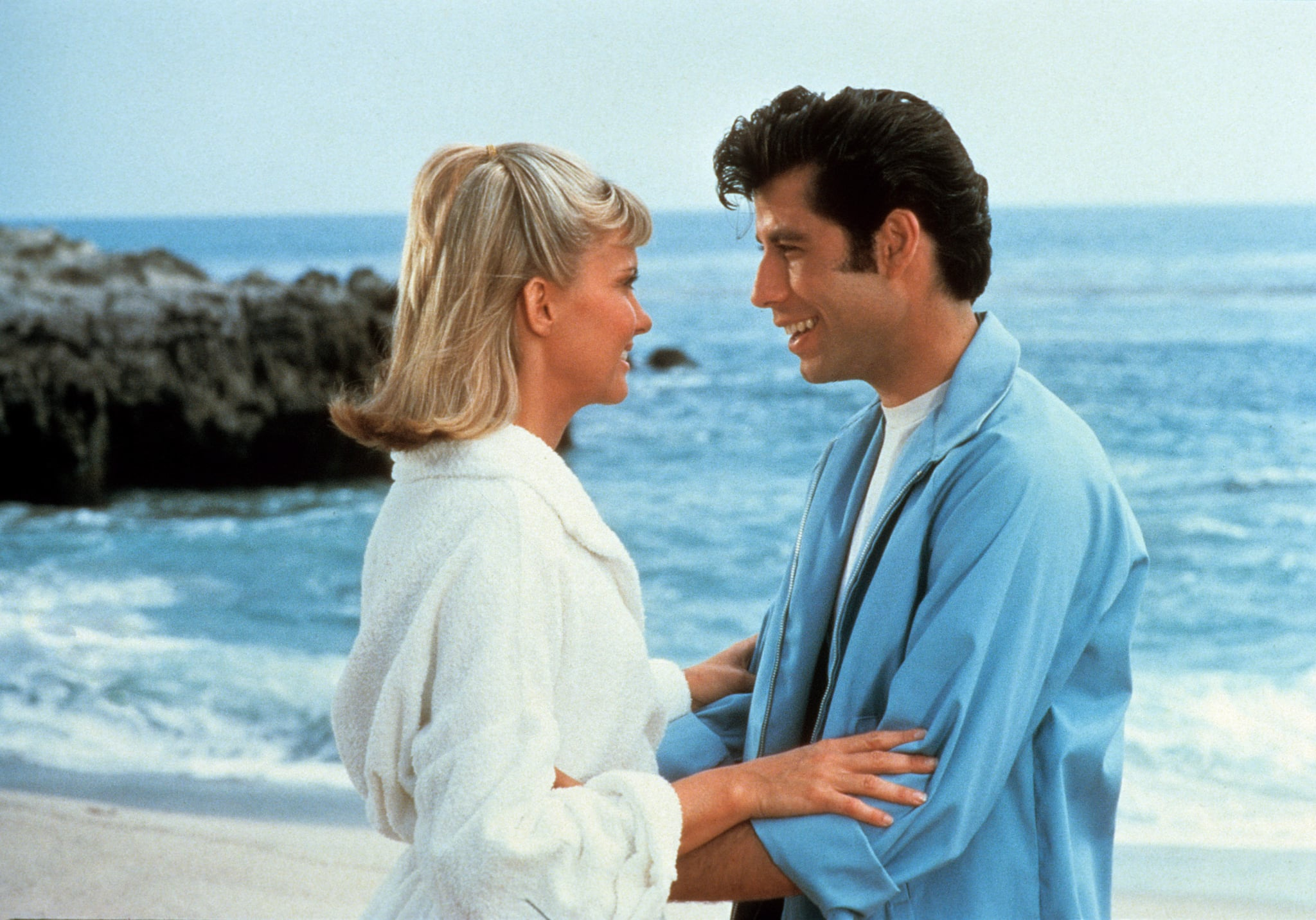 GREASE, Olivia Newton-John, John Travolta, 1978.  Paramount Pictures/ Courtesy: Everett Collection