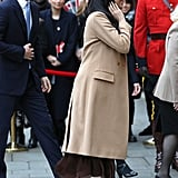 Meghan Markle and Prince Harry Visit Canada House 2020