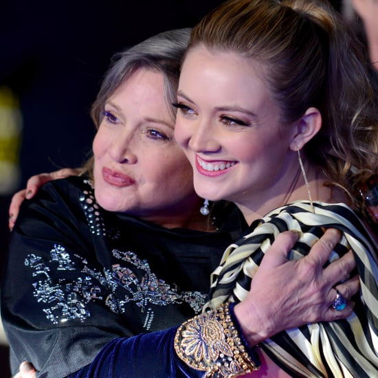 Billie Lourd's Instagram About Carrie Fisher's Death