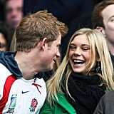 """Prince Harry Back in 2006, Harry flew the 6,000 miles to Cape Town, South Africa, specially for then-girlfriend Chelsy Davy's 21st birthday party. He also wore a t-shirt he'd had made reading """"Official bodyguard of Miss CD."""""""