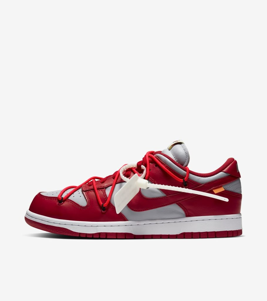 Dunk Low 'Nike x Off-White' in University Red