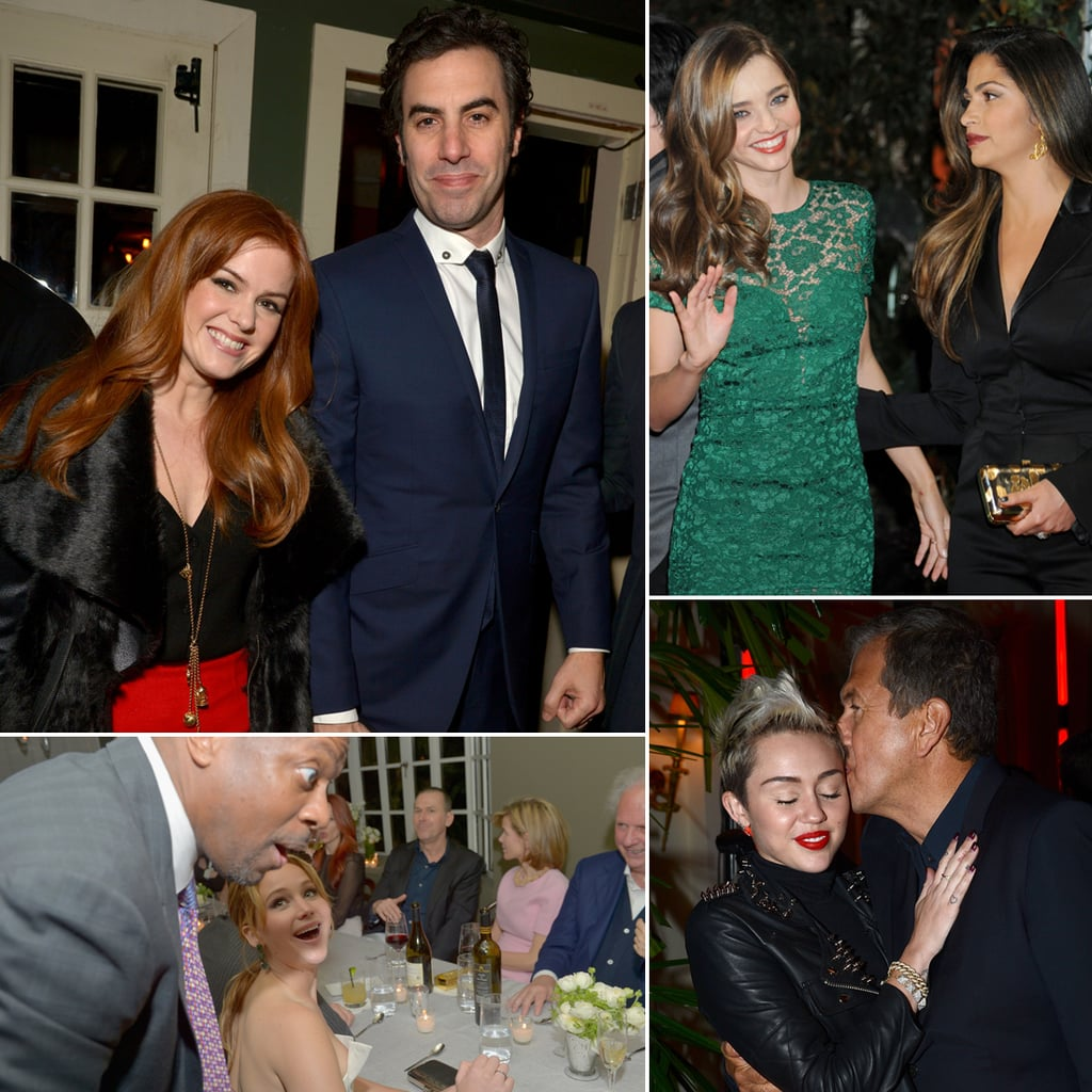 Stars Partying Before the Oscars