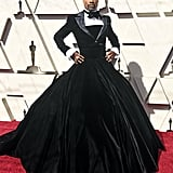 Billy Porter in a Christian Siriano Gown at the 2019 Oscars