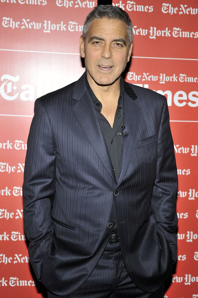 George Clooney chatted up The Descendants.
