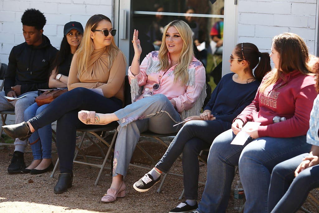 March: She Led by Example and Hosted an Anti-Bullying Workshop in Austin, TX