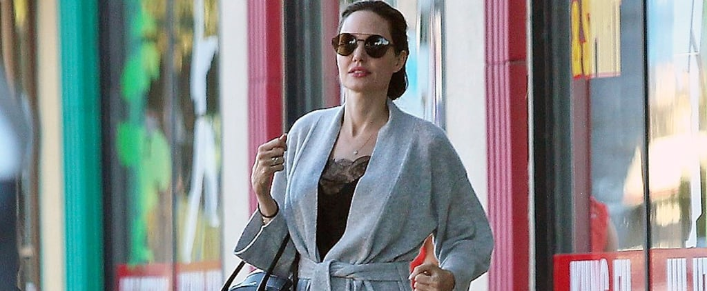 Angelina Jolie's Version of Pajama Dressing Is, Believe It or Not, Appropriate For the Office