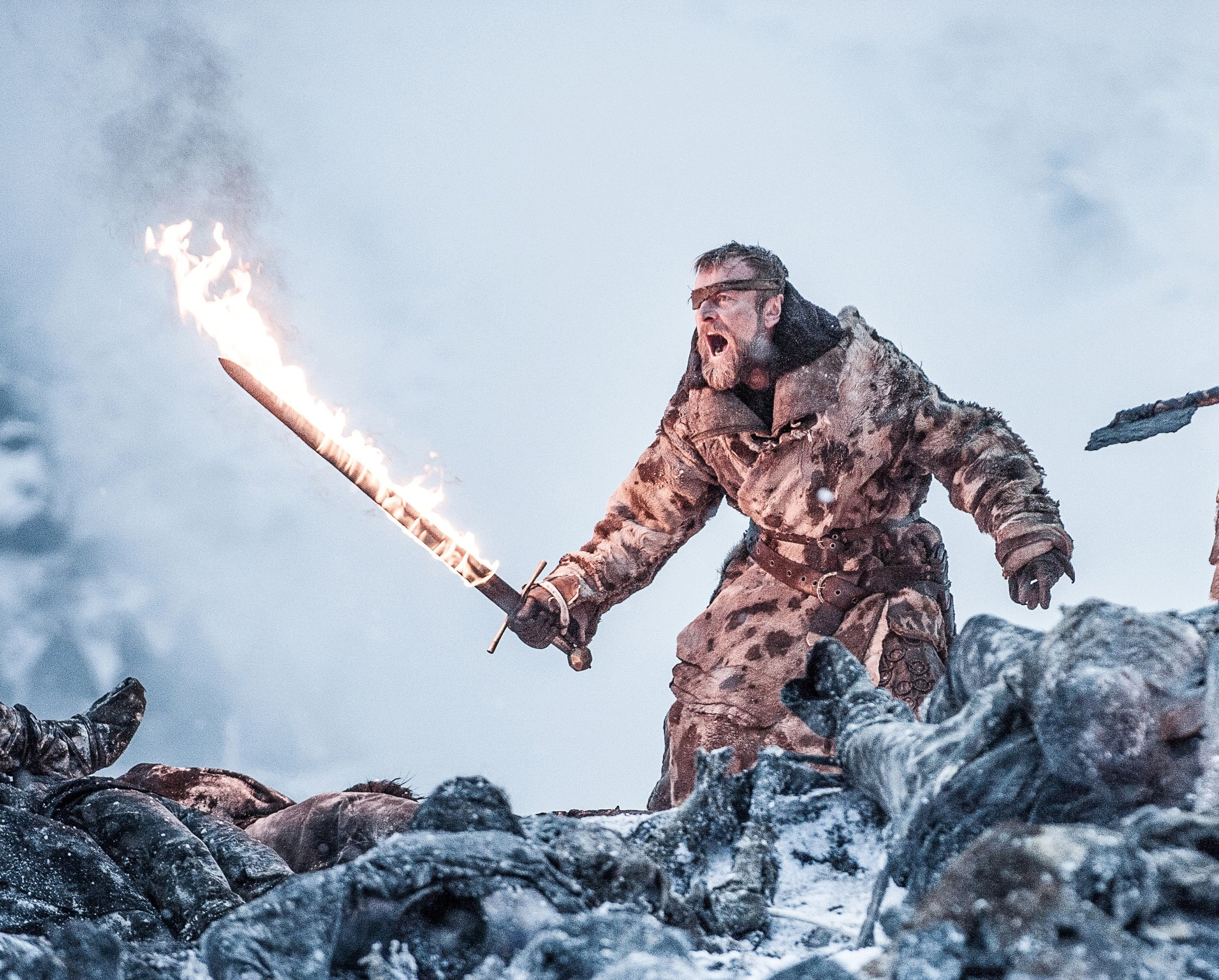 How Does Beric Make His Sword Catch Fire on Game of Thrones