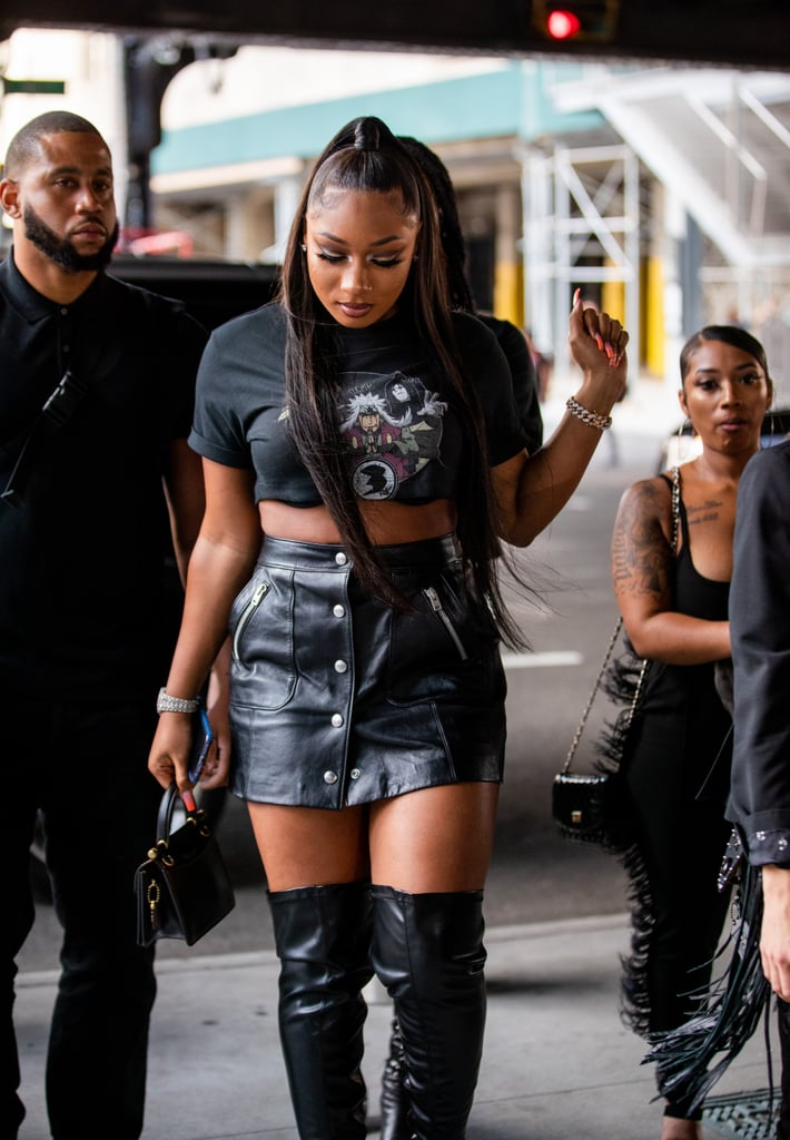 Pictures of Megan Thee Stallion at NYFW and the Diamond Ball