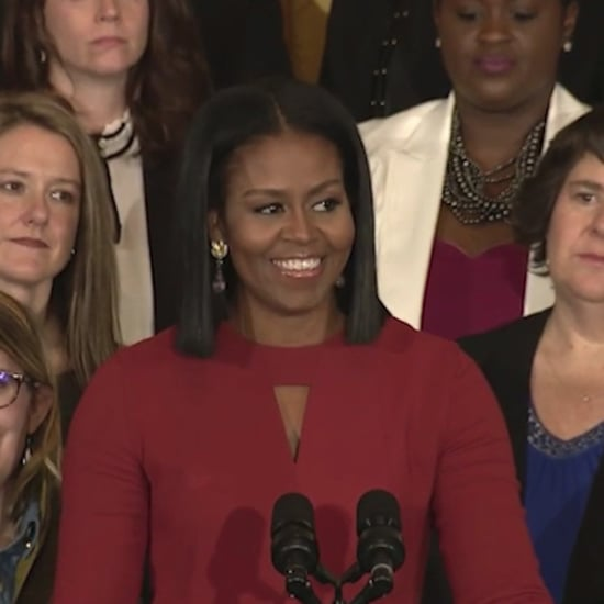 Michelle Obama's Last Speech As First Lady (video)