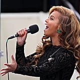 You got goosebumps when she sang the national anthem at President Obama's 2012 inauguration, even though it was prerecorded.