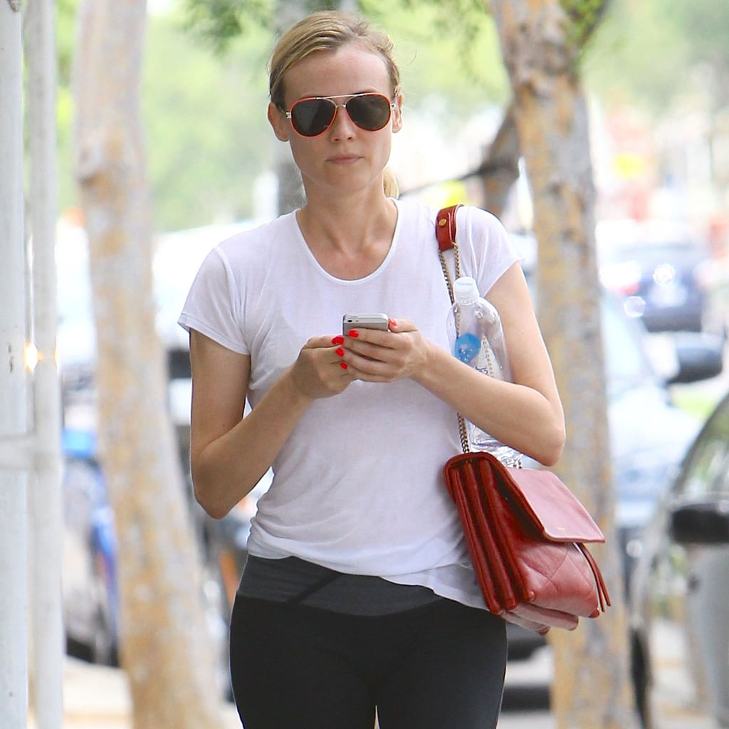 Celebrities Going to Pilates