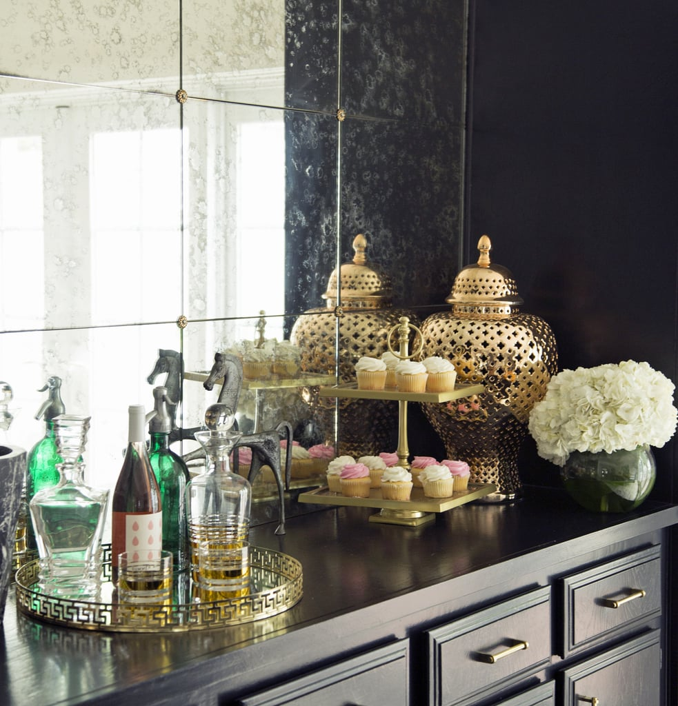 Delicieux A Number Of The Bar Top Accessories Came From Z Gallerie, Including The Gold