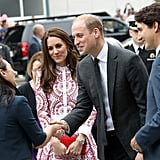 Kate Middleton and Prince William in Canada Pictures 2016