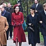 British Royal Family Christmas Church Service 2018