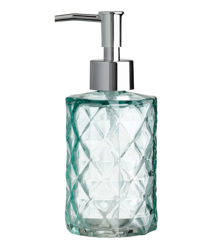 H&M Glass Soap Dispenser