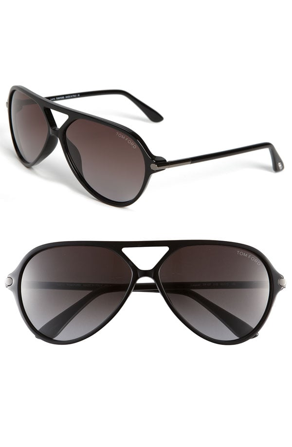 Tom Ford Leopold Aviator Sunglasses ($380)