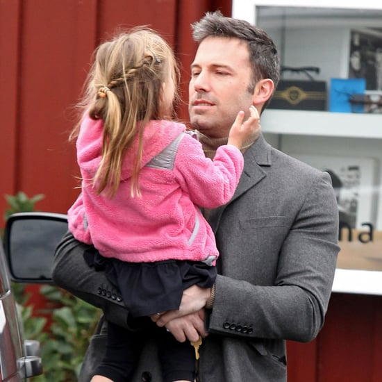 Ben Affleck Carries Seraphina to Breakfast | Pictures